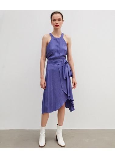 Ipekyol Kadın  Bluz IW620000611001 Mor